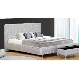 Upholstered Platform Bed by BestMasterFurniture Best Choices