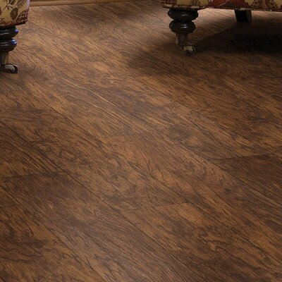"De Soto 7"" x 48"" x 2.03mm Luxury Vinyl Plank Shaw Floors Color: Trail"