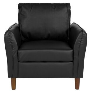 Oneill Upholstered Plush Pillow Back Armchair by Williston Forge