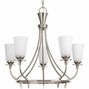 Risha 5-Light Shaded Chandelier by Red Barrel Studio