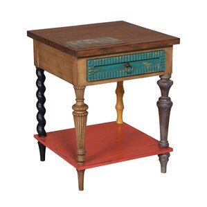 Gallichan End Table by August Grove