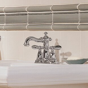 Delta Victorian Centerset Bathroom Faucet with Drain Assembly and Diamond Seal Technology