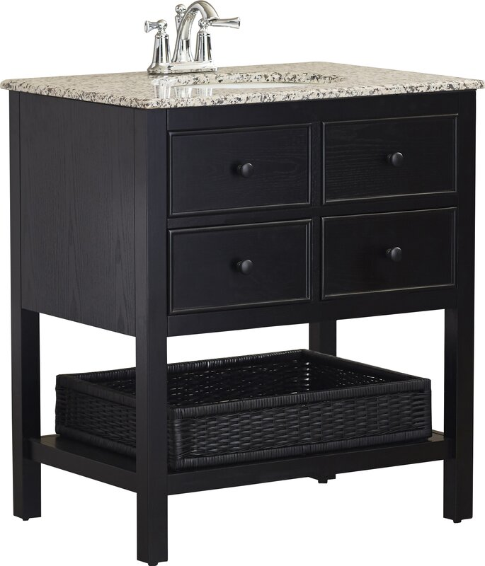 "Bathroom Vanities Rochester Ny alcott hill gettysburg 30"" single bathroom vanity set & reviews"