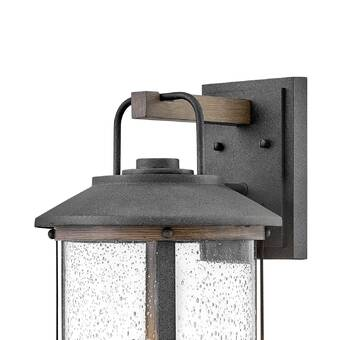 Alcott Hill Georges Malu 3 Light Outdoor Wall Lantern Wayfair