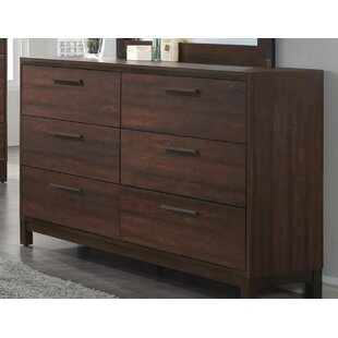 Union Rustic Jeffries 6 Drawer Double Dresser