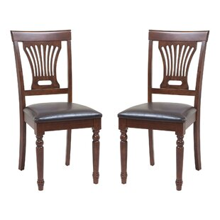 Sturdy Solid Wood Dining Chair (Set of 2)..