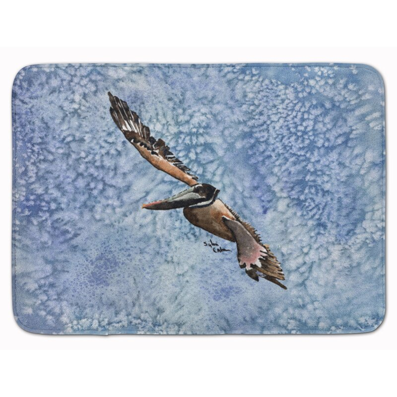 East Urban Home Pelican Memory Foam Bath Rug Wayfair