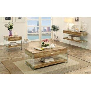 Guero 3 Piece Coffee Table Set Trent Austin Design