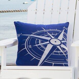Mcmorris Corner Compass Outdoor Pillow
