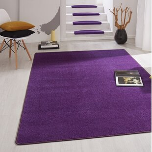 Fancy Purple Stair Tread (Set of 15) by Hanse Home