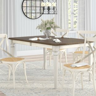 Baleine Extendable Dining Table Lark Manor