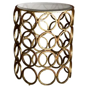 Saturn End Table by Cachet Decor