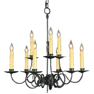 Charlton Home Lampert 9-Light Chandelier