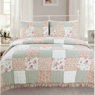 Mucci 100% Cotton Reversible Quilt Set