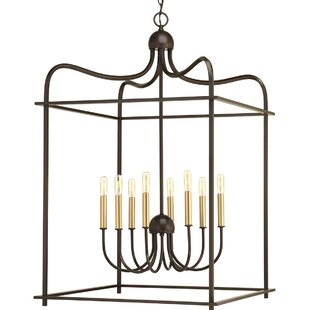 Guide to buy Gaydos 8-Light Foyer Pendant By Ivy Bronx