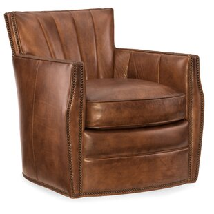 Hooker Furniture Carson Swivel Club Chair