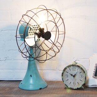Williston Forge Gibb Vintage Triple Light Fan 20