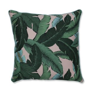 Yardley Swaying Palms Indoor/Outdoor Floor Pillow
