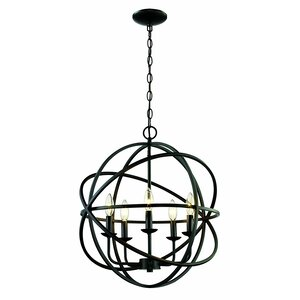 Hankinson 5-Light Globe Pendant