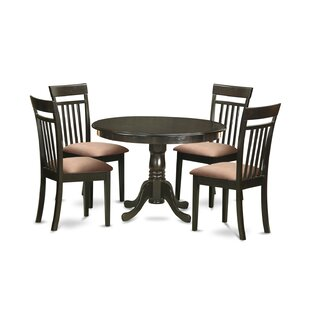 Travis 5 Piece Dining Set by August Grove Great Reviews