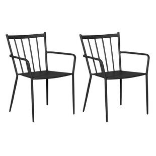 MCanally Stacking Garden Chair (Set Of 2) By Sol 72 Outdoor