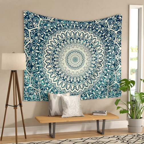 Nature Boho Mandala Wall Tapestry