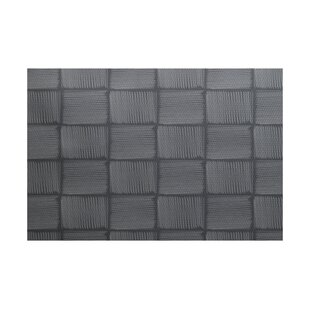 Urquhart Geometric Print Gray Indoor/Outdoor Area Rug