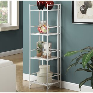 Edwin 4 Tier Folding Etagere Bookcase by Zipcode Design