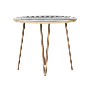 Huling End Table by Bungalow Rose