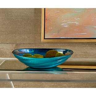 Stover Swirl Gl Decorative Bowl