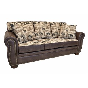 Spoffo Classic Lodge Sofa by Loon Peak Bargain
