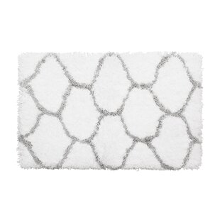 Compare & Buy Alfred Chunky Shag Gray/White Area Rug By Vista Living