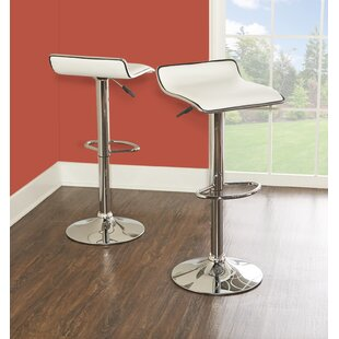 Converse Adjustable Height Swivel Bar Stool (Set of 2)