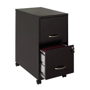 2 Drawer Soho Mobile Pedestal File by Hirsh Industries