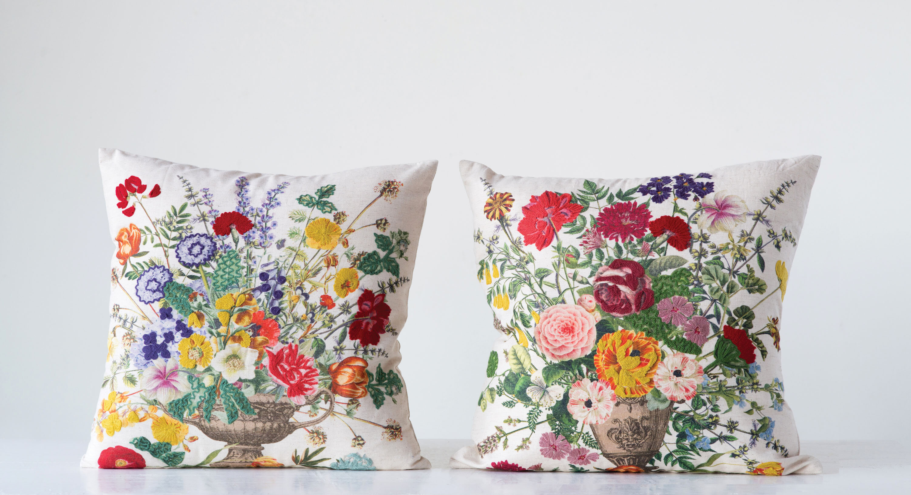 Image result for Embroidered pillows