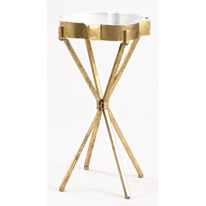 Quatrefoil Tray End Table by InnerSpace Luxury Products