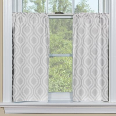 Contempo Curtains Ogee Petite Kitchen Curtain