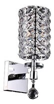 Mcdowell Glam 1-Light LED Arm Sconce by Rosdorf Park