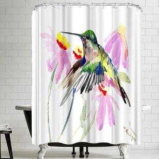 Suren Nersisyan Hummingbird II Single Shower Curtain