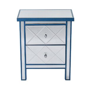 Lindel 2 Drawer Accent Chest by House of Hampton