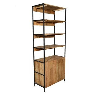 Best Choices Open Plus Closed Storage Unit Standard Bookcase By Home and Garden Direct