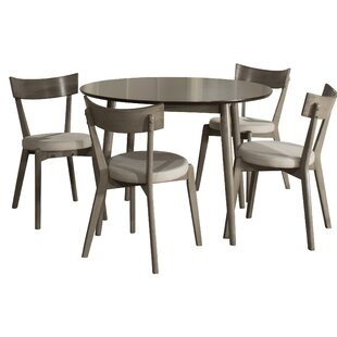 Bober 5 Piece Dining Set Ivy Bronx