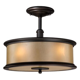 Chin Semi Flush Mount by Winston Porter