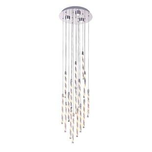 CWI Lighting Aegeus 1-Light LED Pendant