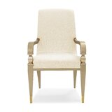 Fanfare Upholstered Dining Chair by Caracole Classic