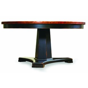 Sanctuary Round Pedestal Dining Table Hooker Furniture