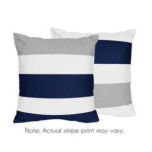 Stripe Throw Pillow (Set Of 2) by Sweet Jojo Designs Spacial Price