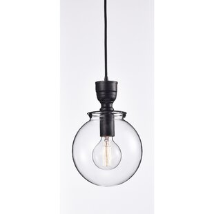 Wrought Studio Mouton Modern 1-Light Globe Pendant