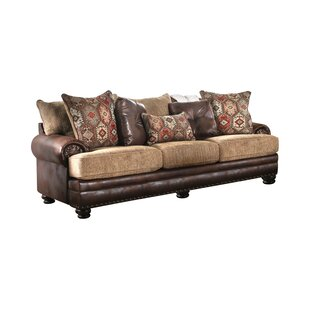 Mcfarlane T-Cushion Sofa by Millwood Pines