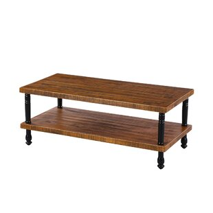 Kyson Industrial Coffee Table by Millwood..